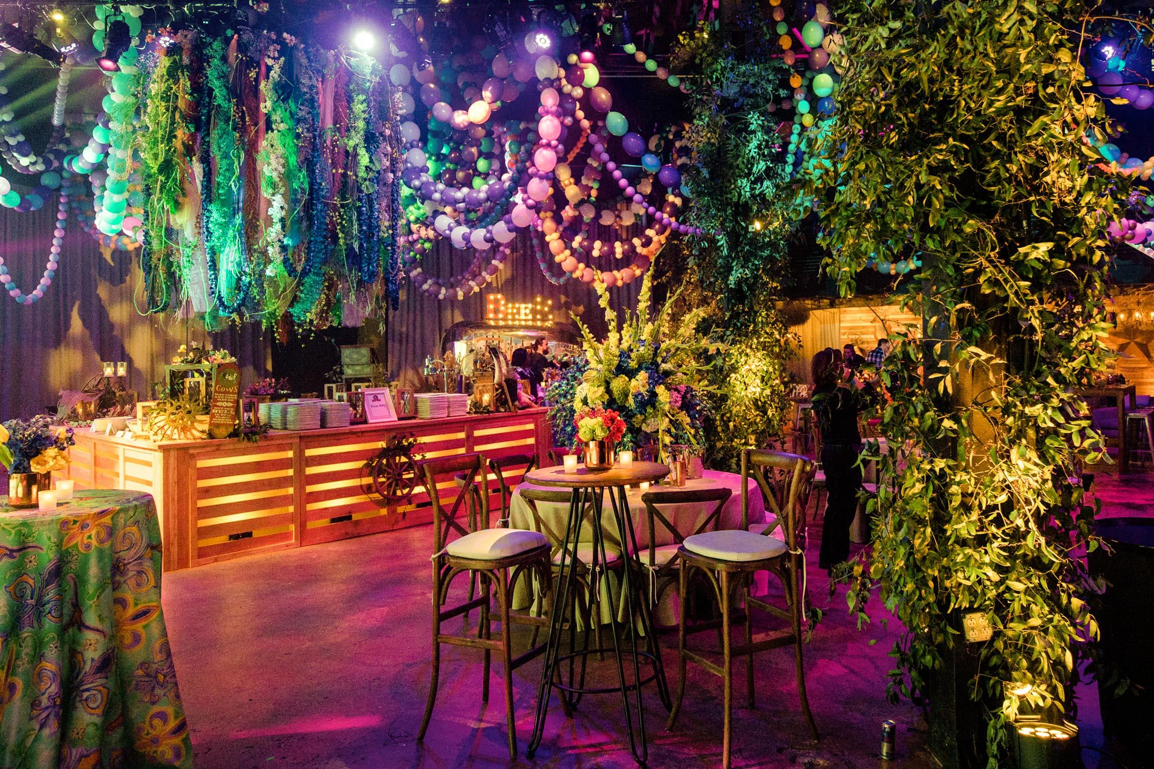 New Orleans party floral arrangements