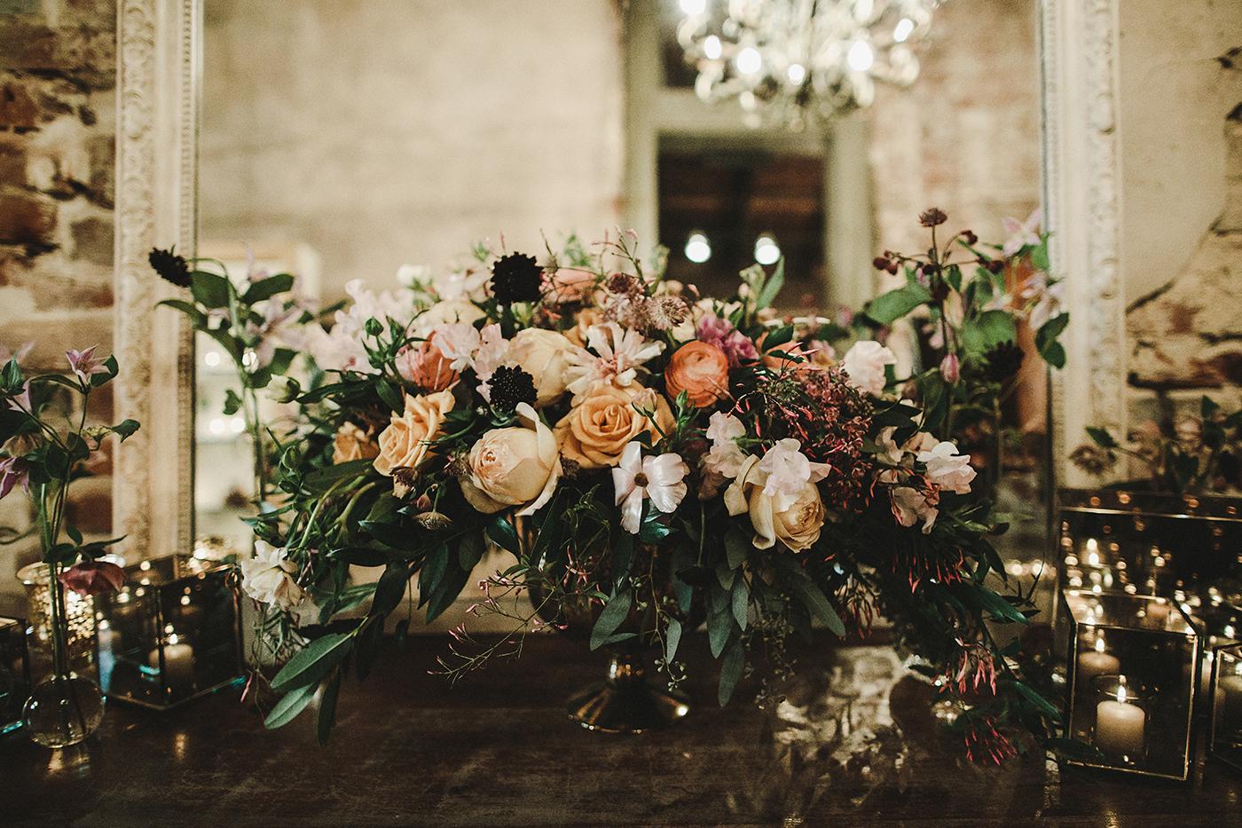 Autumnal floral arrangement by Kim Starr Wise