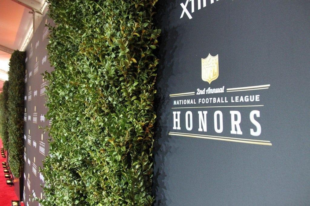 NFL Honors Award Show Floral Design
