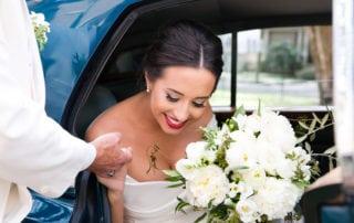 Bridal Bouquet - White Flower Southern Wedding