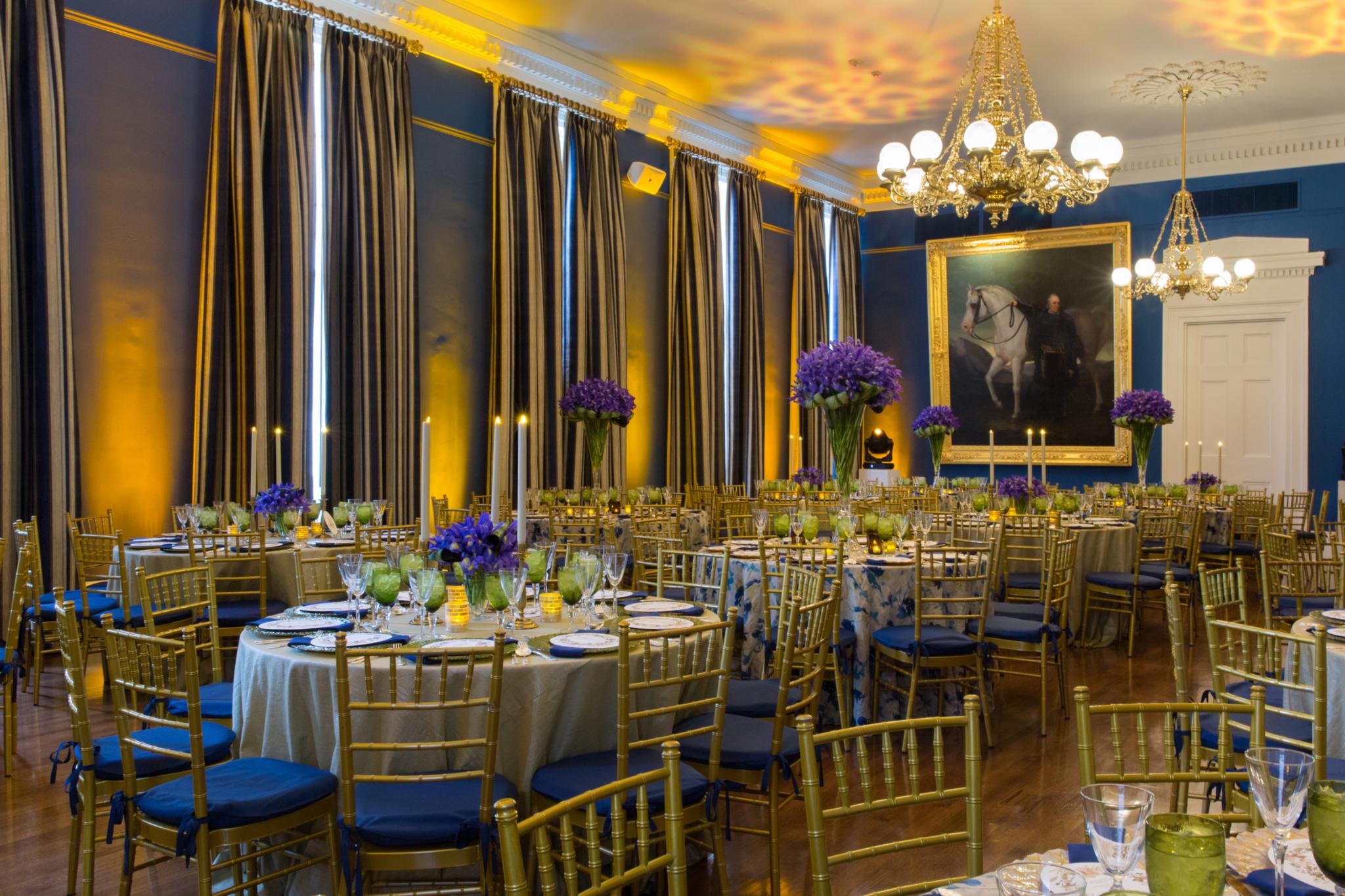 Tricentennial Dinner floral arrangements