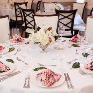 Elms Mansion wedding floral arrangement Kim Starr Wise