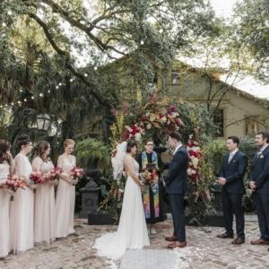 new orleans spring wedding floral arrangements kim starr wise vibrant nola wedding