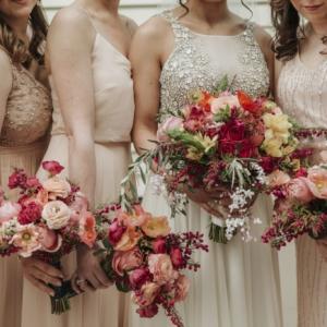 new orleans spring wedding floral arrangements kim starr wise vibrant color palate bouquets