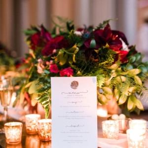 Fernanda and farere wedding table arrangement by kim starr wise