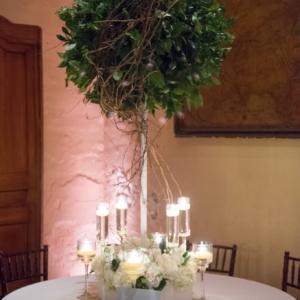 new orleans wedding floral arrangements kim starr wise latrobes large greenery centerpieces