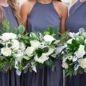 new orleans wedding floral arrangements kim starr wise bridesmaids bouquets