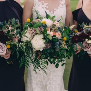 new orleans wedding floral arrangements kim starr wise bridal bouquet bridesmaids bouquets