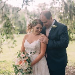 kim-starr-wise-new-orleans-wedding-florals-white-ivory-ranunculus-olive-eucalyptus-boutonniere-groom-bride-bridal-bouquet-garden-rose-head-wreath-blush-vine-ribbon